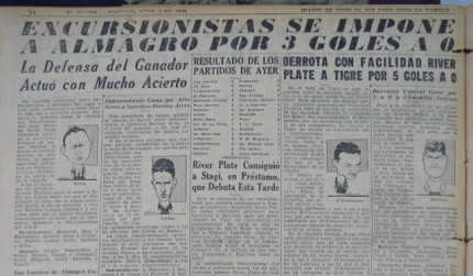 EXCURSIONISTAS ALMAGRO 1939